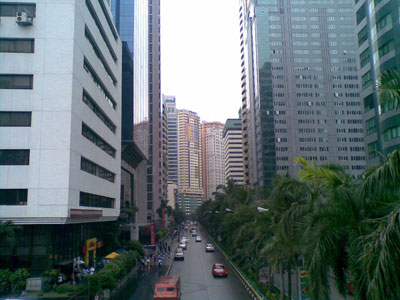Ortigas city is a prime commercial district in the Philippines