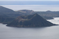 View of Taal Volcano from Tagaytay City